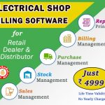 Electrical Shop Billing Software