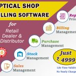 optical shop billing software